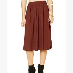 🆕 Split Side Midi Skirt